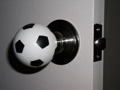 Football door-knob | Door knobs | Pinterest | Door knobs, Doors and ...