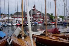 Sandhamn - Island. Take a boat from downtown Stockholm to get here.