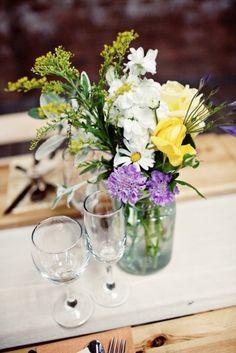 wild flowers Meadow Flowers, Wild Flowers, Free Wedding, Wedding Day, Tartan Wedding, Wedding Planning Websites, Getting Married, Wedding Flowers, Glass Vase