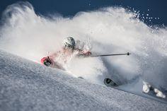 Arlberg Free Ski by Mario Entero, via Snow Skiing, Winter Photography, Winter Sports, Rock Climbing, Mountain Biking, The North Face, Mario, Powder, Shots