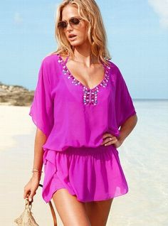 67a27dfdecfe Cute beach cover-up Swimsuit Cover Ups