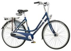 Blue Dutch bike