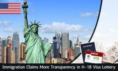 #Immigration Claims More Transparency in #H1B #Visa #Lottery. Read more...   https://www.morevisas.com/immigration-news-article/immigration-claims-more-transparency-in-h-1b-visa-lottery/4488/