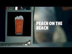SIZZLING PEACH DRINK RECIPE - HOW TO MIX - YouTube