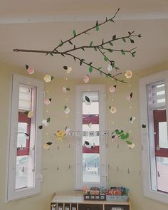 Classroom Ceiling, Toddler Classroom, Classroom Decor Themes, Montessori Classroom, Classroom Displays, Class Decoration, School Decorations, Baby Room Ideas Early Years, Spring Arts And Crafts