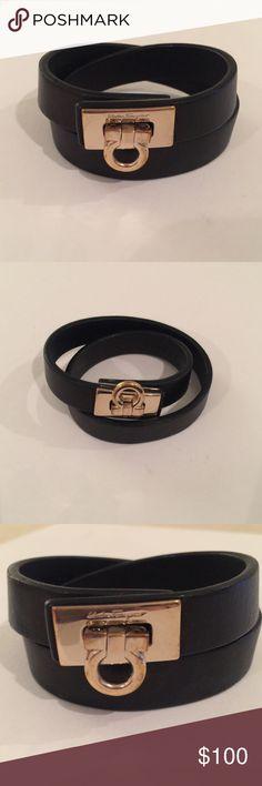 Salvatore Ferragamo Gancio Lock Wrap Bracelet Salvatore Ferragamo Gancio Wrap Bracelet Salvatore Ferragamo Jewelry Bracelets