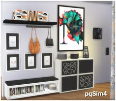 "Sims 4. Hallway ""Madison"" by pqSim4 http://pqsim4.blogspot.com.by/2017/05/recibidor-madison-sims-4-custom-content.html"