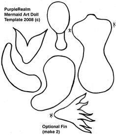 ... & Paper Dolls on Pinterest | Paper Dolls, Puppets and Mermaids