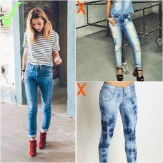 Como não usar jeans - cuidado com a lavagem