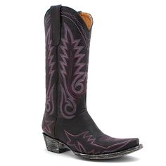"Old Gringo 13"" Chocolate and Violet Nevada Boot at Maverick Western Wear"