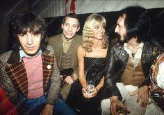 Photo By RICHARD YOUNG / Rex Features BILL WYMAN, CHARLIE WATTS, OLIVIA NEWTON JOHN AND JOHN ENTWISTLE - 1978