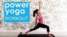 34 Minutes:  Power Yoga Workout ~Learning to Listen