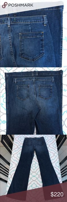 """💙👖Bell Bottom J Brand Jeans👖💙31 11/12 35"""" CUTE 💙👖Gorgeous Bell Bottom J Brand Jeans👖💙 Size 31 (11/12). Extra Long & Tall!!! 34.75"""" Inseam. High Waisted!!! 11.75"""" Rise. 16"""" Across Back. Amazing Stretch. Medium Dark Wash. Light Fading. Wonderama. Wide Super Flare. Adorable!!! Awesome!!! J Brand!!! Ask me any questions! : ) J Brand Jeans Flare & Wide Leg"""