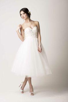 Love Found True tea length dress | The Wedding Scoop Spotlight: Short Wedding Dresses