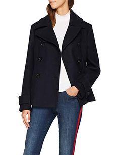 Filippa K Penny Peacoat Chaqueta para Mujer Azul (Navy Medium Outerwear Women, Cute Woman, Mantel, Navy, Coat, Jackets, Stuff To Buy, Blue, Clothes