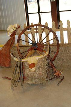 cowboy western baby shower centerpiece  | it simple for western baby shower items featuring western my
