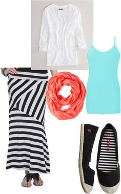 """Summer Skirt Outfit"" by liz-ricks-cellan on Polyvore"