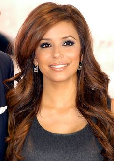 Hair • Eva Longoria • Reddish Brown