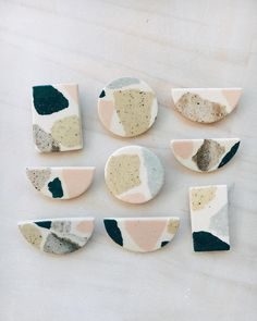 ceramic pieces