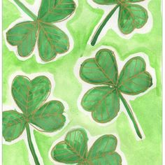 Here's how to draw a Shamrock for St. Patrick's Day. For an extra special touch, try adding gold lines with a paint marker. Projects For Kids, Art Projects, Drawing Projects, Drawing Tutorials, Project Ideas, Saint Patricks Day Art, First Grade Art, Grade 3, Second Grade
