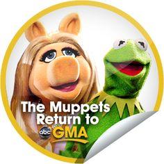 The Muppets Return to GMA Sticker   GetGlue