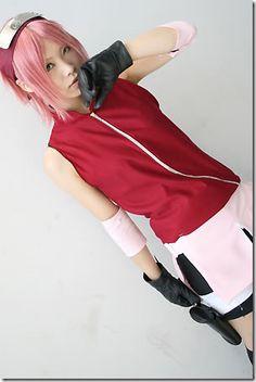 Haruno Sakura cosplay