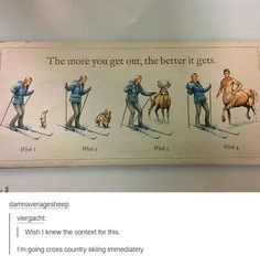 the more you get out...