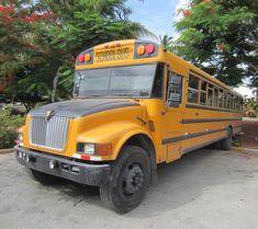 Republica Dominicana, School Bus Dominican Republic, School, Schools