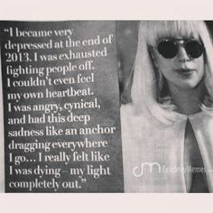 That must have been a tough road for her while so many of us are looking forward to 2014. I'm not a fan of her, but it's pretty upsetting to see some celebrities like that. Hope she will get through all the obstacles.  #LadyGaga #celebrity #celebrityquotes #quotesgram #quotestagram #instagramquotes #qotd #Quoteoftheday #words #wordsgram #instasize #instagood #instapics #quotes #staystrong #life
