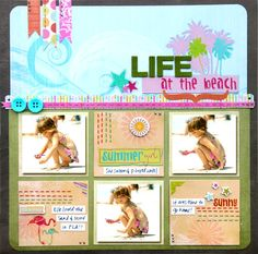 Life at the Beach by Vicki Boutin for Fancy Pants Designs