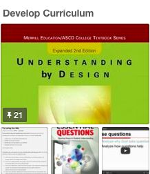 Michael Essenburg's best practice board for developing curriculum