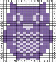 Knitting Pattern On Graph : 1000+ ideas about Knitting Charts on Pinterest Fair ...
