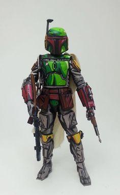 Boba Fett Cell Shade (Star Wars) Custom Action Figure