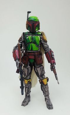Boba Fett Cell Shade (Star Wars) Custom Action Figure