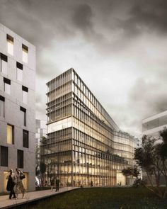 Gallery of Kaufman & Broad Office Building Winning Proposal / Studioninedots…