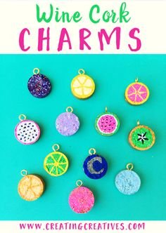 Cork Charm Necklace – Creating Creatives