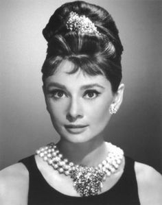 Is there anyone who didn't think she was the most chic in Breakfast at Tiffany's? Audrey Hepburn