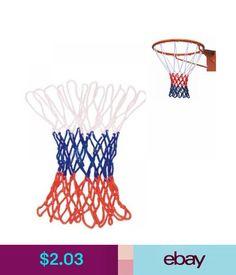 97a296fc34a8 Other Sale High Quality Sports Nylon Basketball Net Red White Blue Rim Goal   ebay