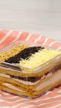 Sweet Recipes, Snack Recipes, Dessert Recipes, Cooking Recipes, Desserts, Cooking Cake, Easy Cooking, Dessert Boxes, Deli Food