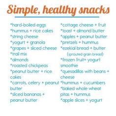 healthy snacks, health snacks, cheat sheets, dieting foods, healthy eating, fitness diet, daily motivation, eating organic, health foods