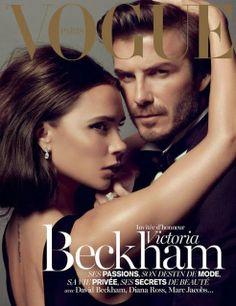 Vogue Paris December 2013 January 2014 Victoria  & David Beckham by Inez & Vinoodh