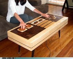 Functional Nintendo Controller Table
