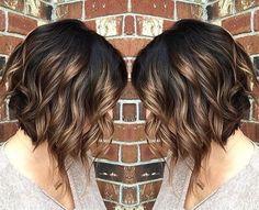 magnifiques modèles de cheveux méchés tendance automne 2017 | Coiffure simple et facile