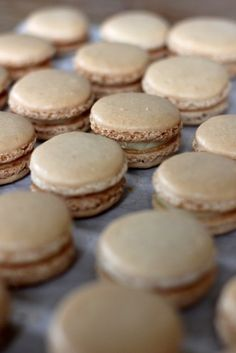 Macarons chocolat blanc et fleur d'oranger - Mes petits choux