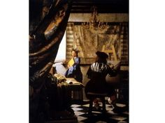 22. Vermeer, Allegory of Painting, Baroque, DUTCH REPUBLIC - Google Search