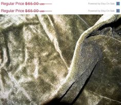 ANNUAL 30 Off SALE Antique French Velvet Silk Mohair by RuinsCa, $45.50