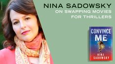 Nina Sadowsky, author of CONVINCE ME, talks about writing propulsive thrillers, the difference between creating movies and creating books, and her career in the film industry. Join us for more Writing Routines where authors let us into their creative spaces, share their writing process, and give exclusive insights into their books. Thriller Novels, Random House, Writing Process, Thrillers, Film Industry, Authors, Routine, Writer