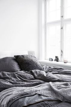 bedroom #grey   Her Couture Life www.hercouturelife.com