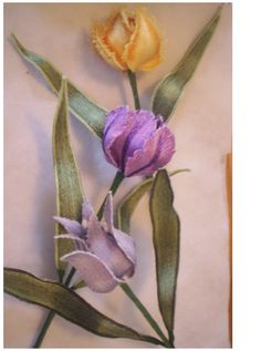 Pam's flowers were created to be stitched out in the 5x7 hoop of my embroidery machine. These are really fun to make.