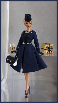 OOAK Fashions for Silkstone / Fashion Royalty / Vintage barbie / Poppy Parker